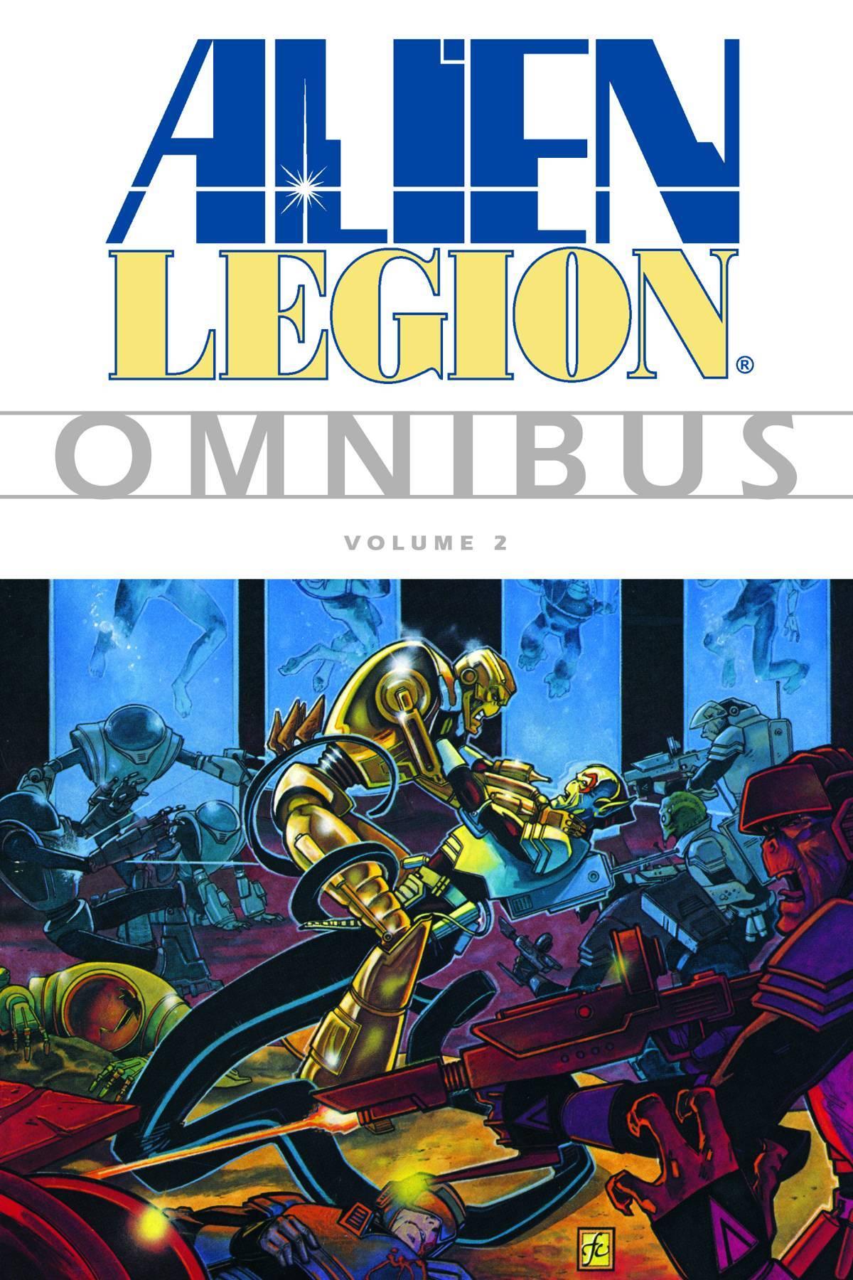 Alien Legion Omnibus Vol 02
