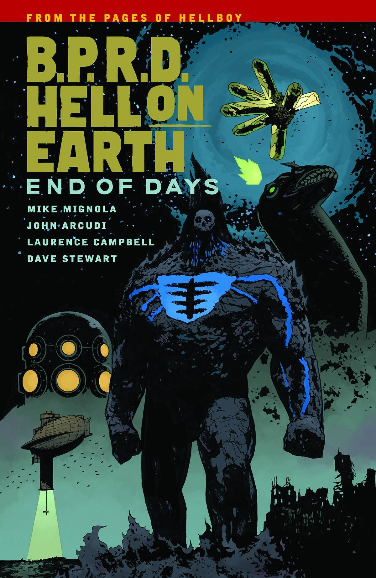 BPRD Hell On Earth Vol 13 End Of Days