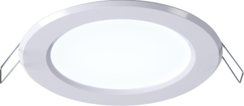 230V IP20 5W LED Panel Lamp with Integrated Driver 4000K
