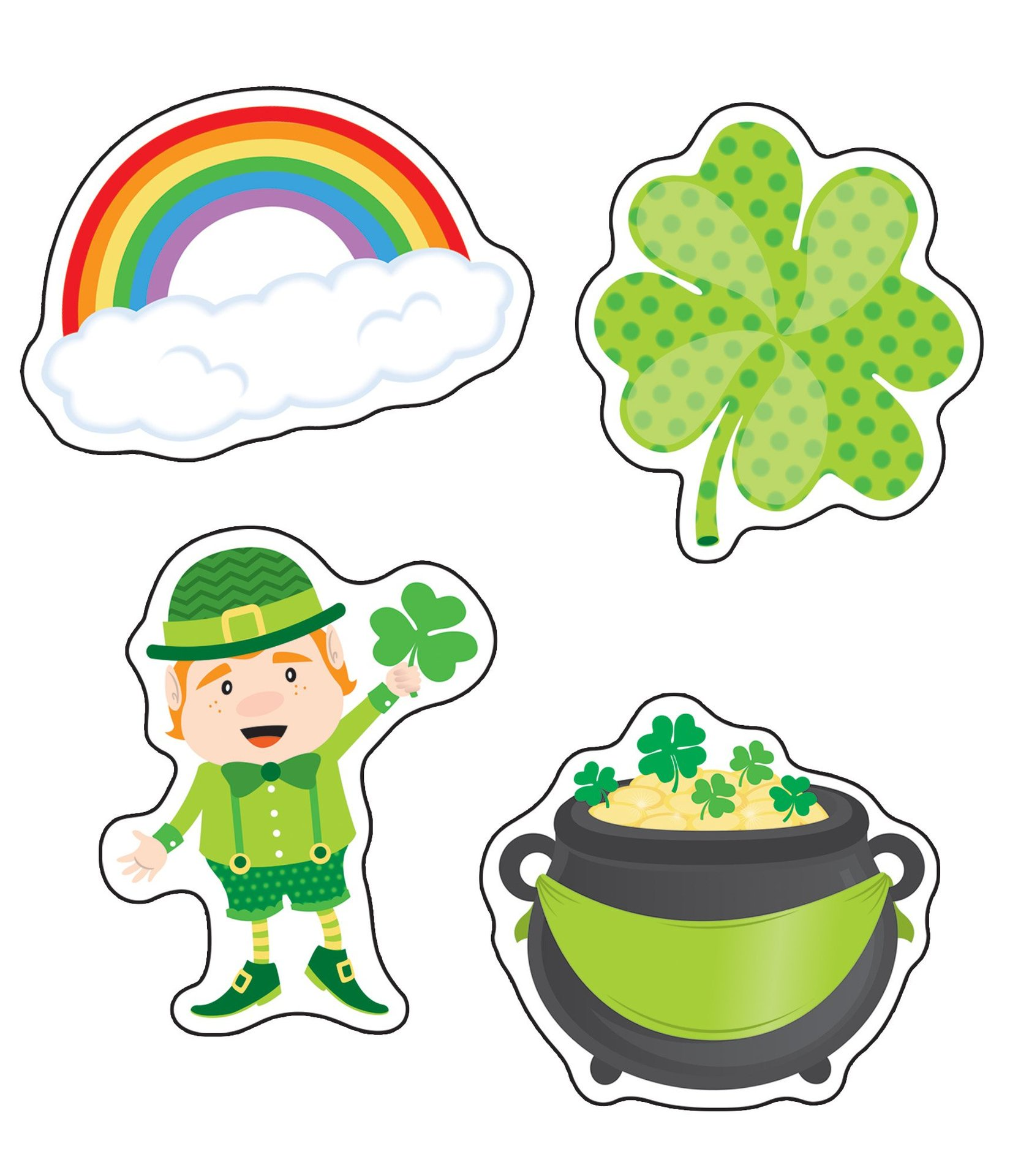 CD 120222 ST. PATRICK'S DAY CUTOUTS