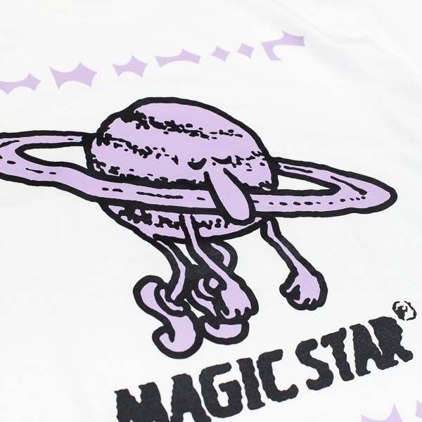 Gasius Magic Star Tshirt White