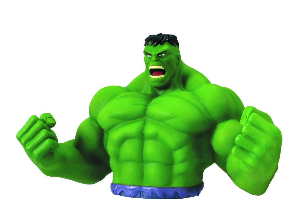 Incredible Hulk Bust Bank