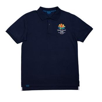 Gold Coast 2018 Men's Emblem Pique Polo Image