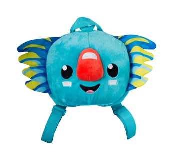 Borobi Mascot Plush Backpack Image