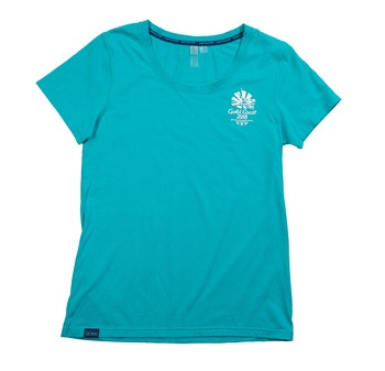 Gold Coast 2018 Women's HD Emblem T-Shirt Turquoise Image