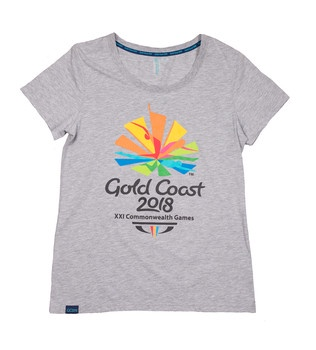 Gold Coast 2018 Women's Emblem T-Shirt Image
