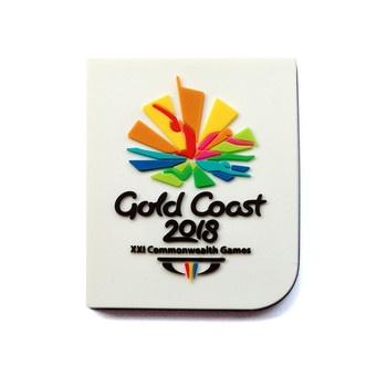 GC2018 Emblem PVC Magnet Image
