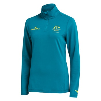 Team Australia Women's 1/4 Zip Top Image