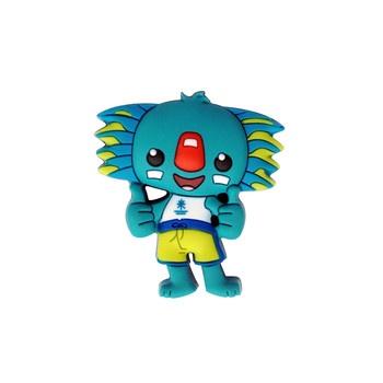 Borobi Mascot 3D PVC Pin Image